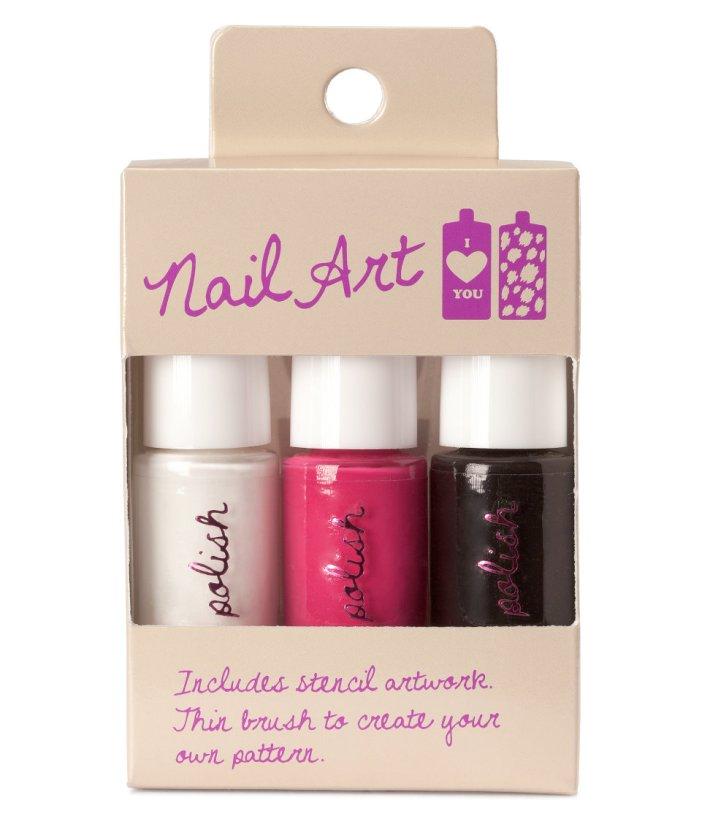 h&m nail art kit