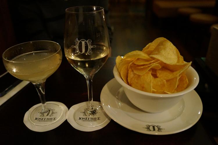 Josephine bar 11ème Paris avis chips maison