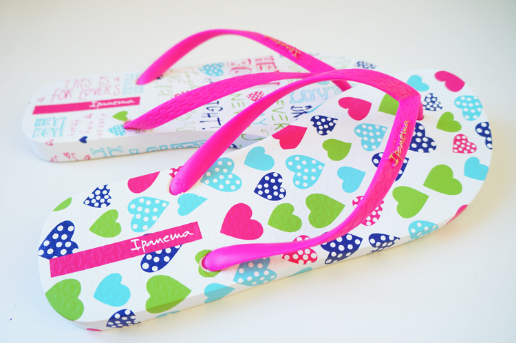 Tongs iPANEMA Unique Heart Ladies Flip Flop
