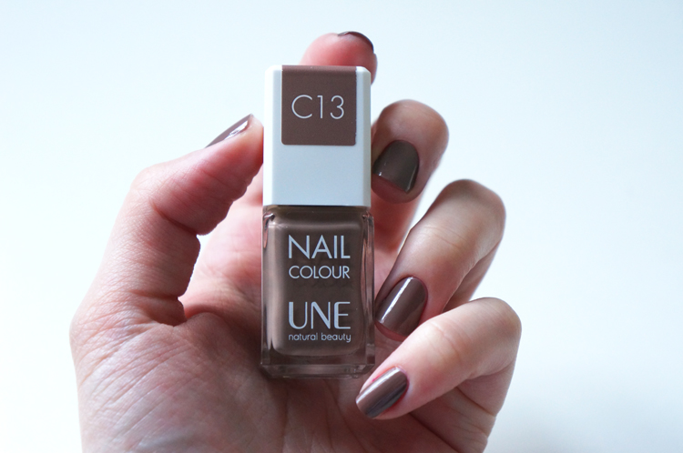 Vernis Une natural beauty test avis pinceau manucure Nail Colour C13 Taupe
