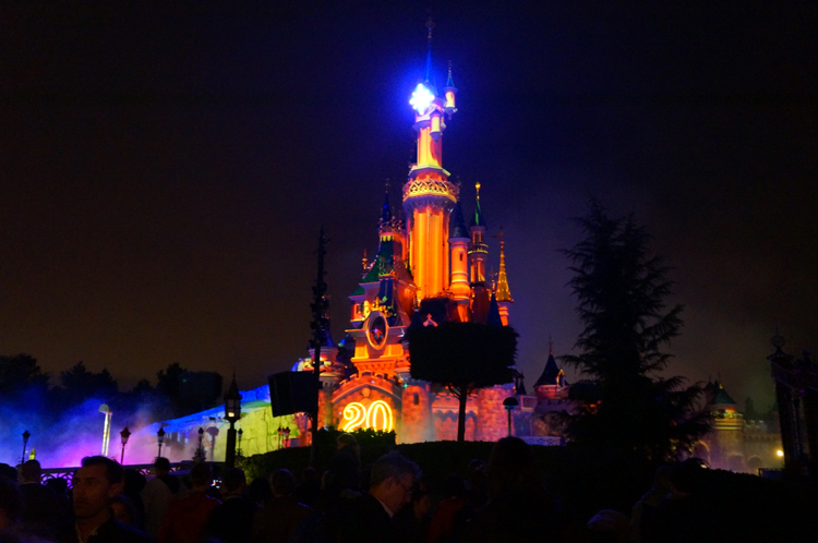 Disney Dreams spectacle DisneyLand Paris