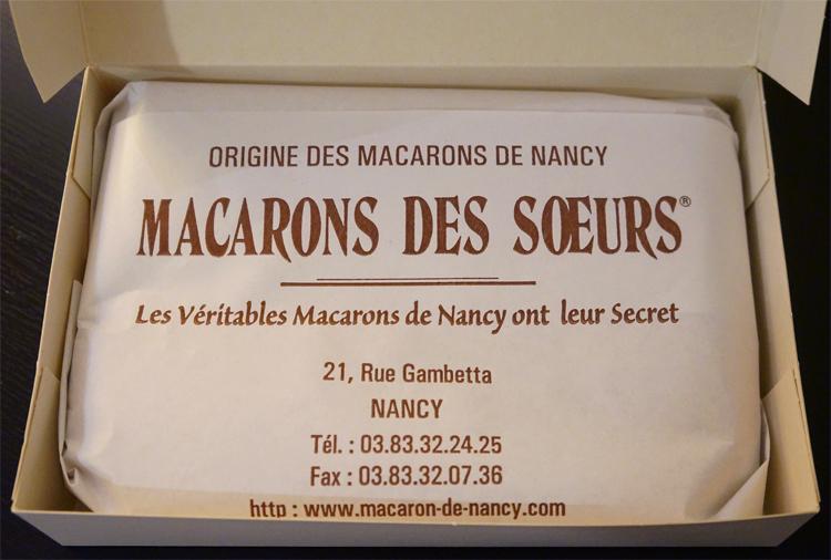 Macarons des Soeurs Nancy