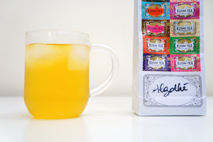 Algothé Kusmi Tea Thé Glacé avis recette