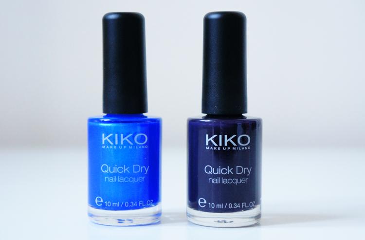 Kiko Quick Dry NailLaquer Vernis test avis swatch