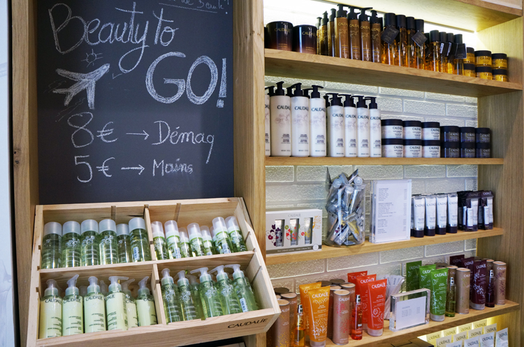 Boutique Caudalie paris marais avis exclusivité