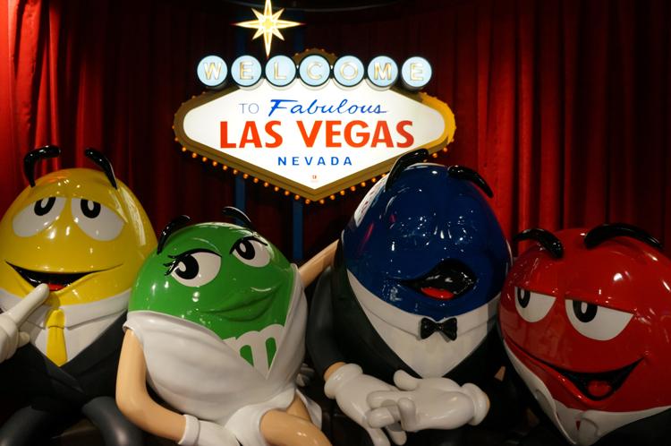Vegas LV M&M's Store