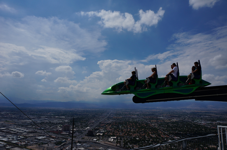 Vegas LV Stratosphere Tower attraction