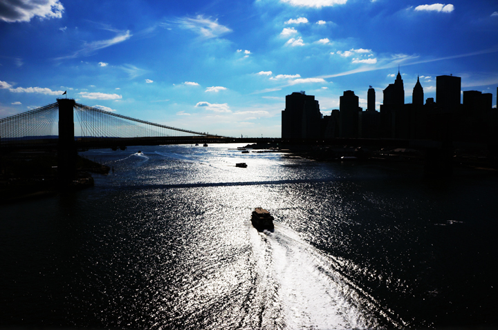 Manhattan Bridge View New York