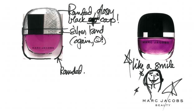 vernis Marc Jacobs blue velvet desire swatch avis nails
