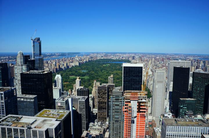 Rockefeller Center View New York