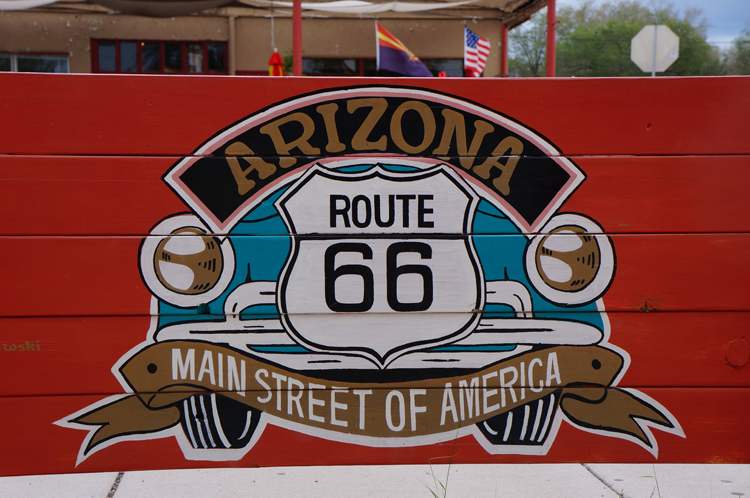 Route 66 Arizona Grand Canyon USA Etats Unis