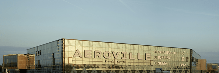 Aeroville centre commercial Tremblay
