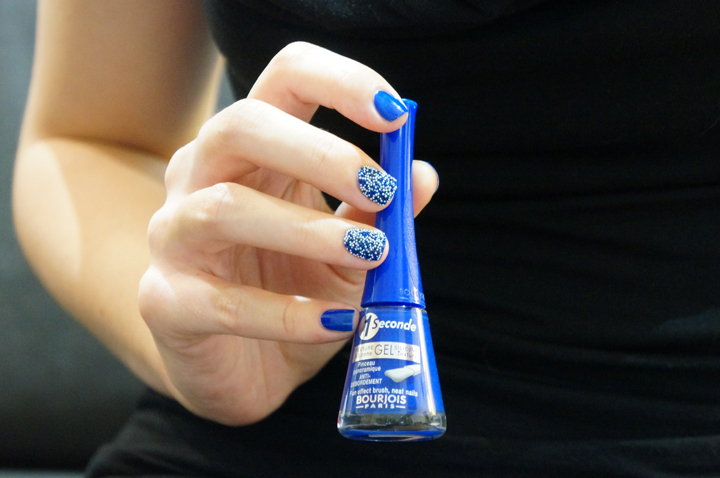 Bourjois toppings caviar maliblue 03 vernis in the navy 23 swatch vernis