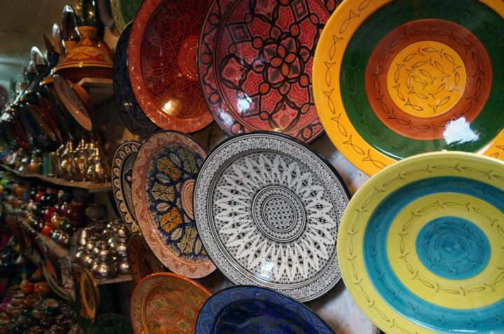 Marrakech Souk Medina Poteries Maroc