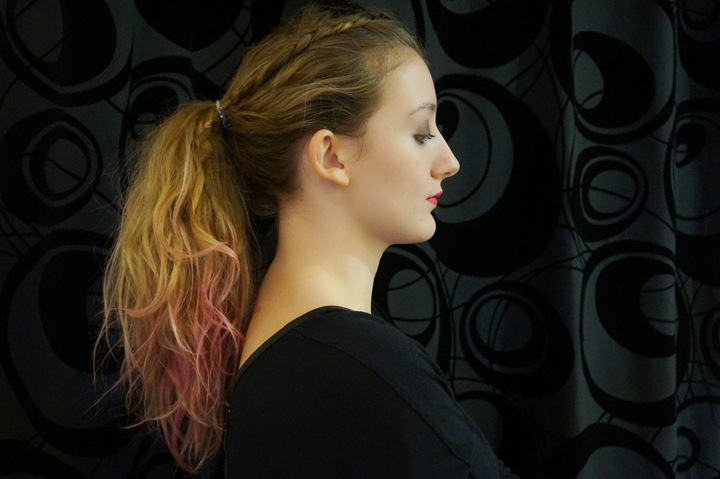 Hair Shadow Hair Fixer Kiko test avis swatch rose pink Cheveux Ombré