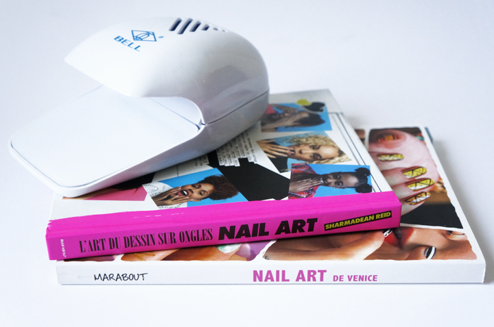 Livre Nail Art Venice - L'art du dessin sur ongles Sharmadean Reid avis - Nail Dryer