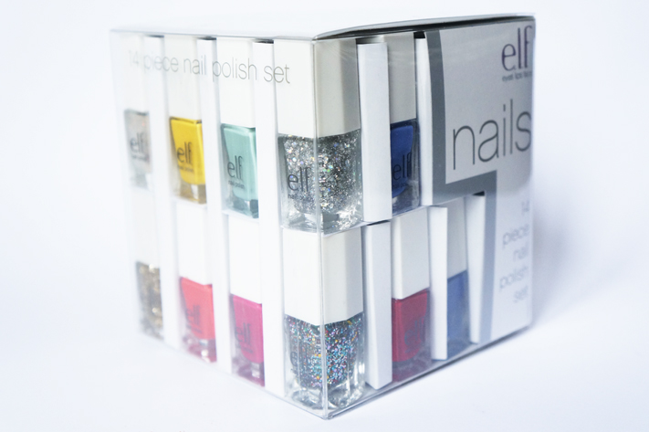 Eyes Lips Face ELF Cube 14 vernis Brights