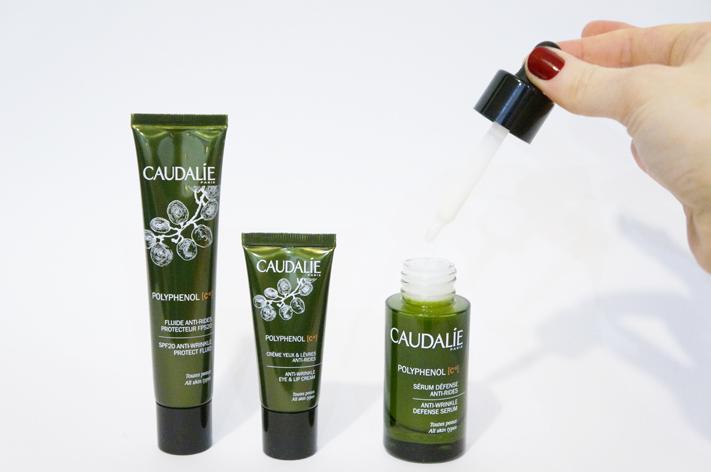 Polyphénol C15 Anti Ox Caudalie test avis serum crème fluide anti-rides