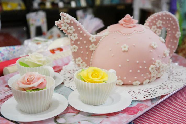 Atelier des sens Paris 10 ans - pâte à cake design