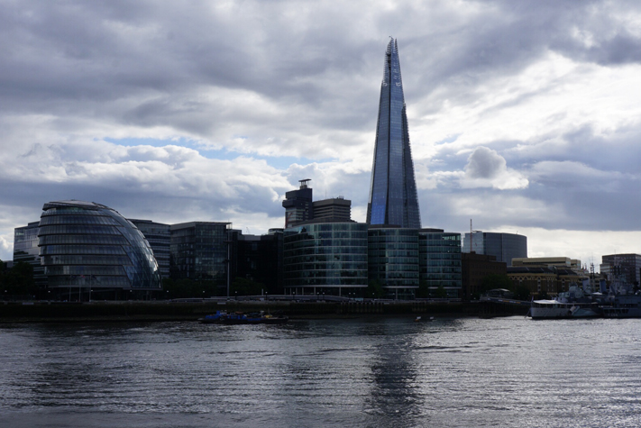 City Hall & The Shard - Weekend visiter London