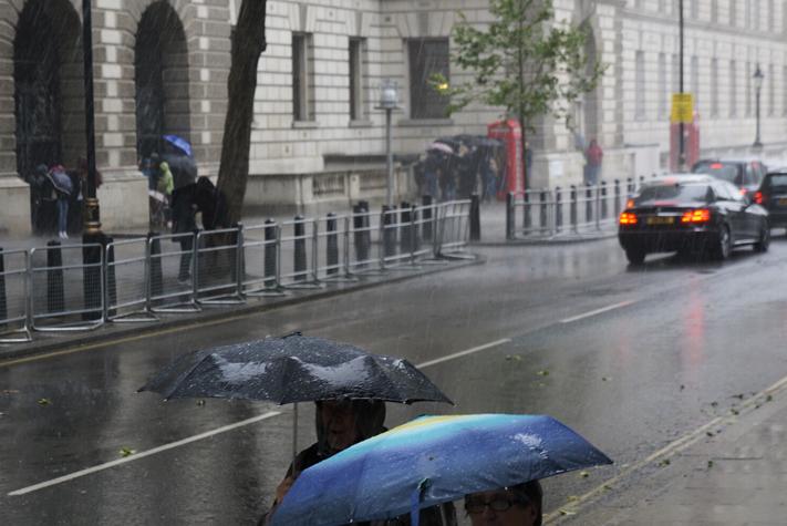 La pluie anglaise - Weekend à Londres la capitale anglaise