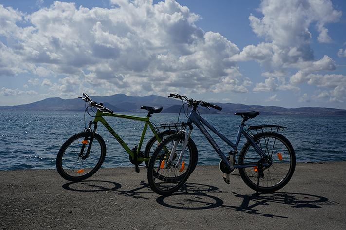 Naxos Grèce voyage avis - vélos