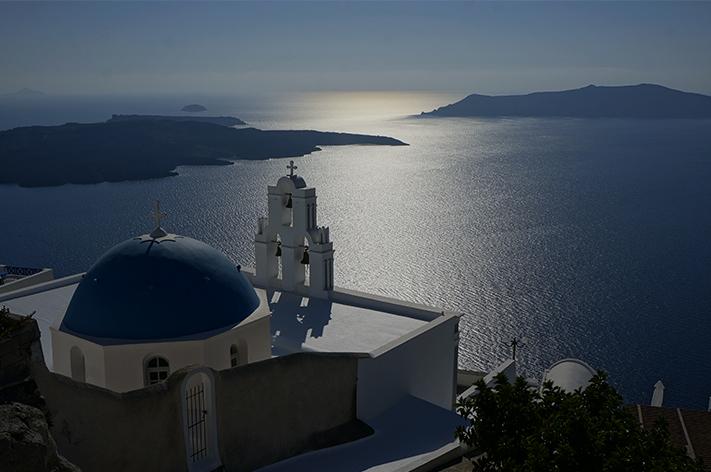 Santorin Santorini Grèce Voyage avis - Firostefani