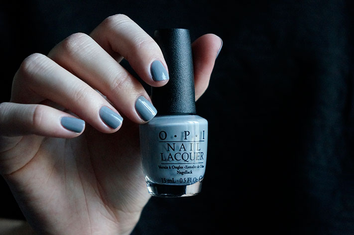 Cement the Deal - OPI Fifty shades of Grey collection swatch