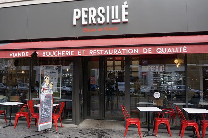 Burger persillé paris 13 avis test - Maison de viande - boucher