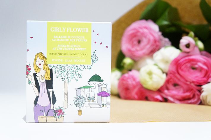 Girly Flower Bougie la Française