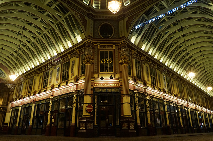 Londres Leadenhall Market
