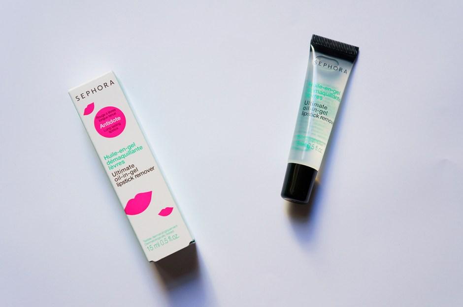 Huile Gel démaquillante lèvres Sephora test avis