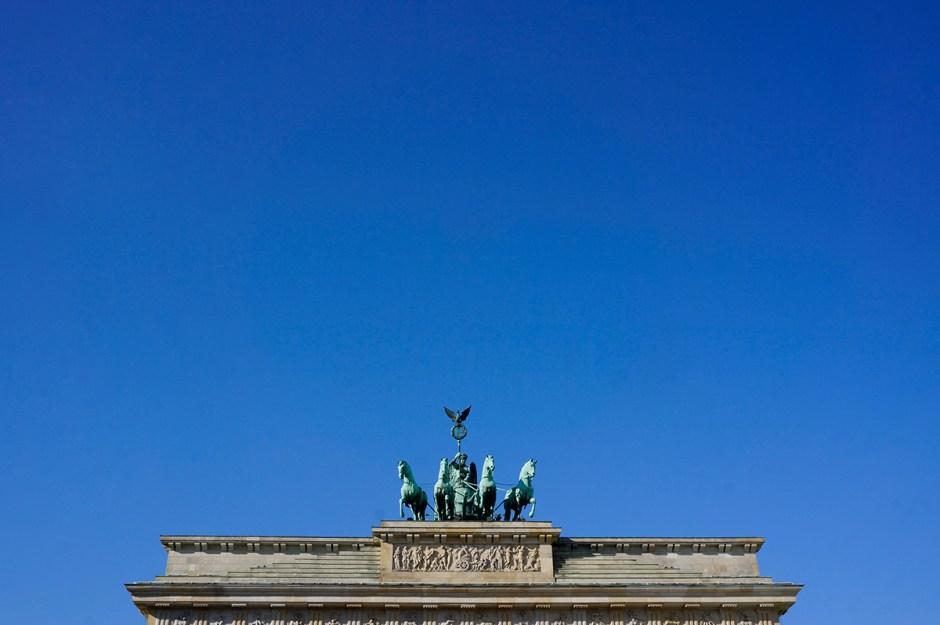 Brandenburger Tor : Porte de Brandebourg - visite Berlin