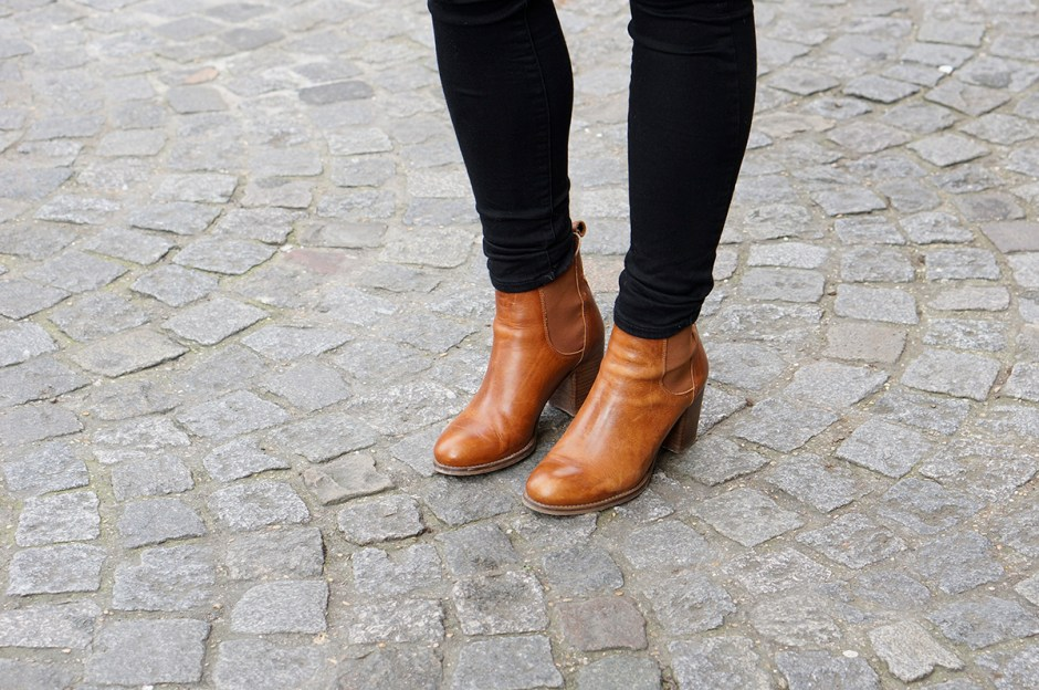Bottines Sacha Cognac