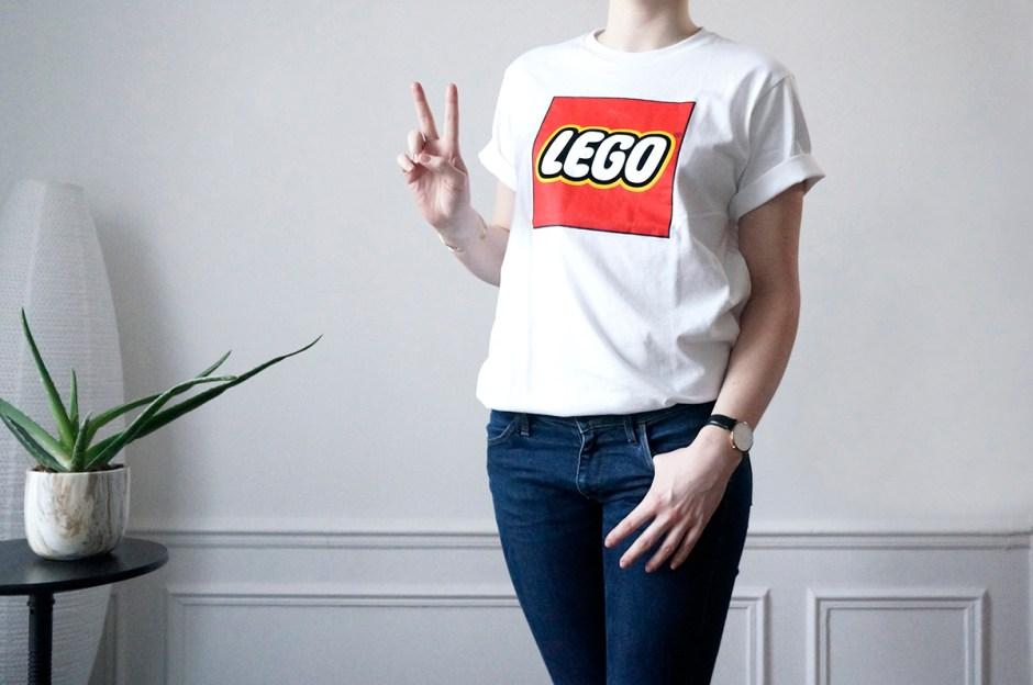 Lego Uniqlo Tshirt Logo