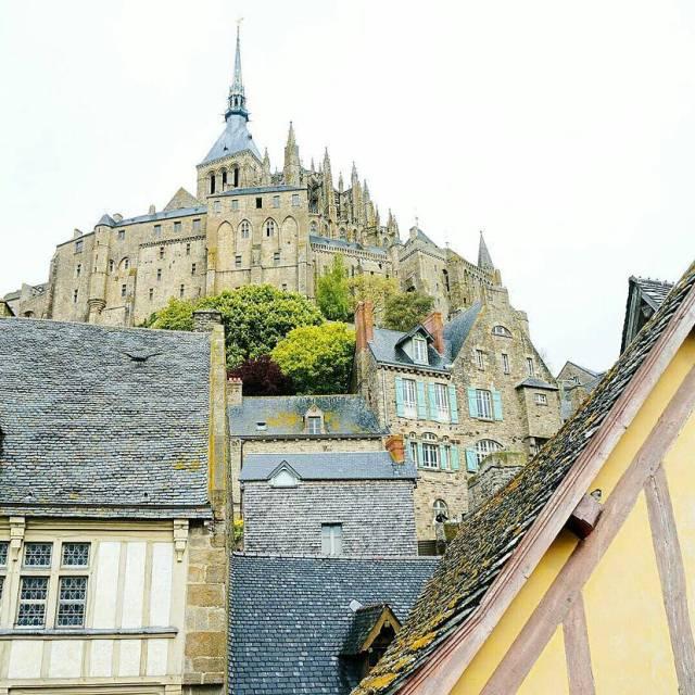 Les couleurs du Mont Saint Michel    hellip