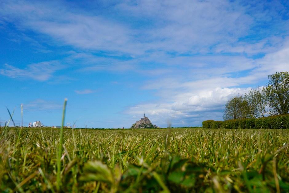 Le Relais Saint-Michel vue Mont Saint Michel grande maree mere poulard avis sejour repas 3