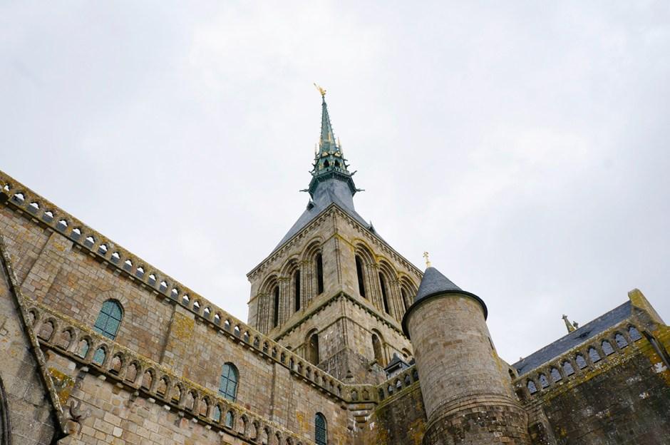 Mont Saint Michel grande maree mere poulard avis sejour abbaye visite 2