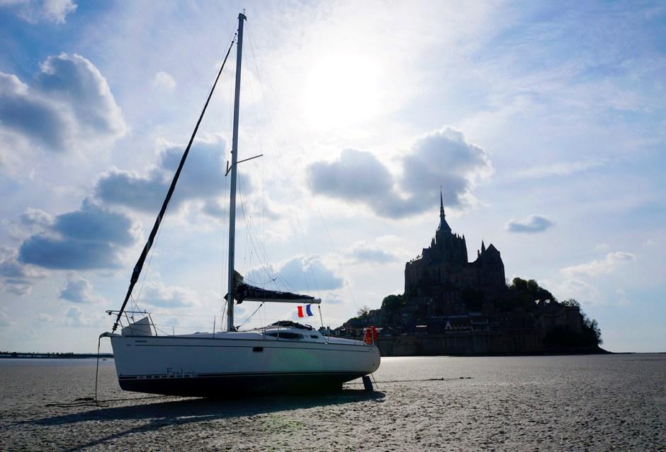 Mont Saint Michel grande maree mere poulard avis sejour baie 3