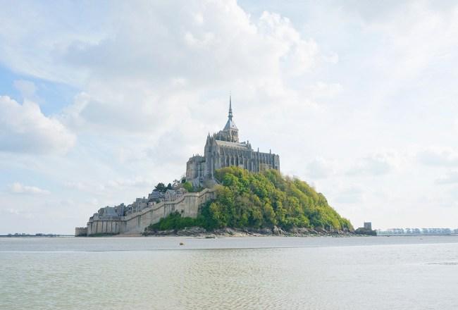 Mont Saint Michel grande maree mere poulard avis sejour baie