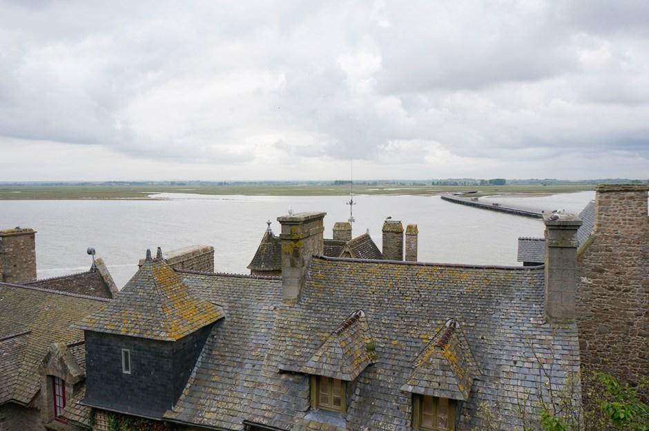 Mont Saint Michel grande maree mere poulard avis sejour ballade 10