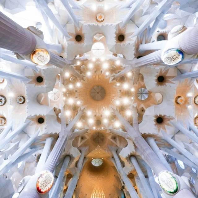 La superbe Sagrada Familia Un concentr de beaut dans lequelhellip