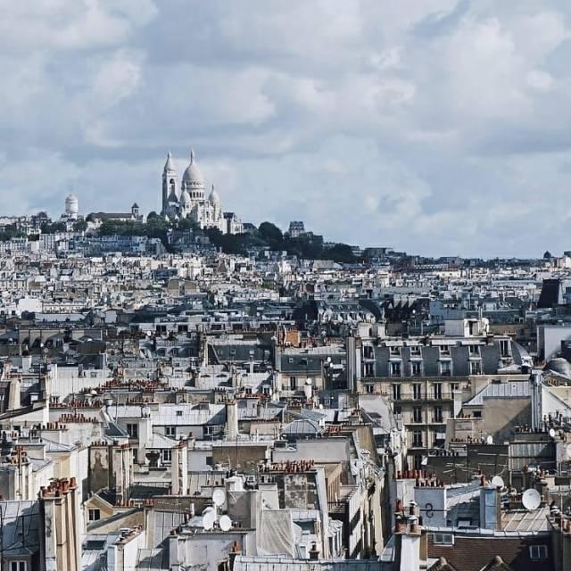 Paris jolie Souvenir de la trs belle vue depuis lahellip