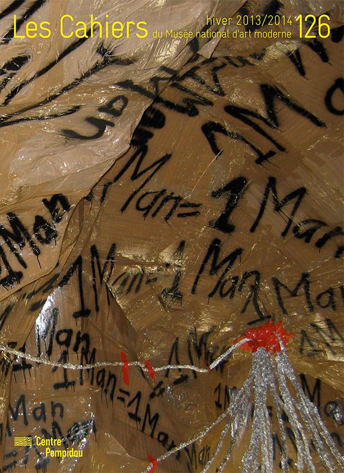 n° 126 des Cahiers du Musée national d'art moderne