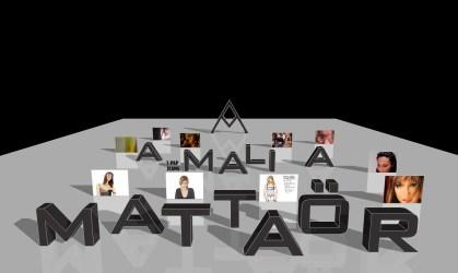 Le premier site web, en 3D, d'Amalia Mattaor