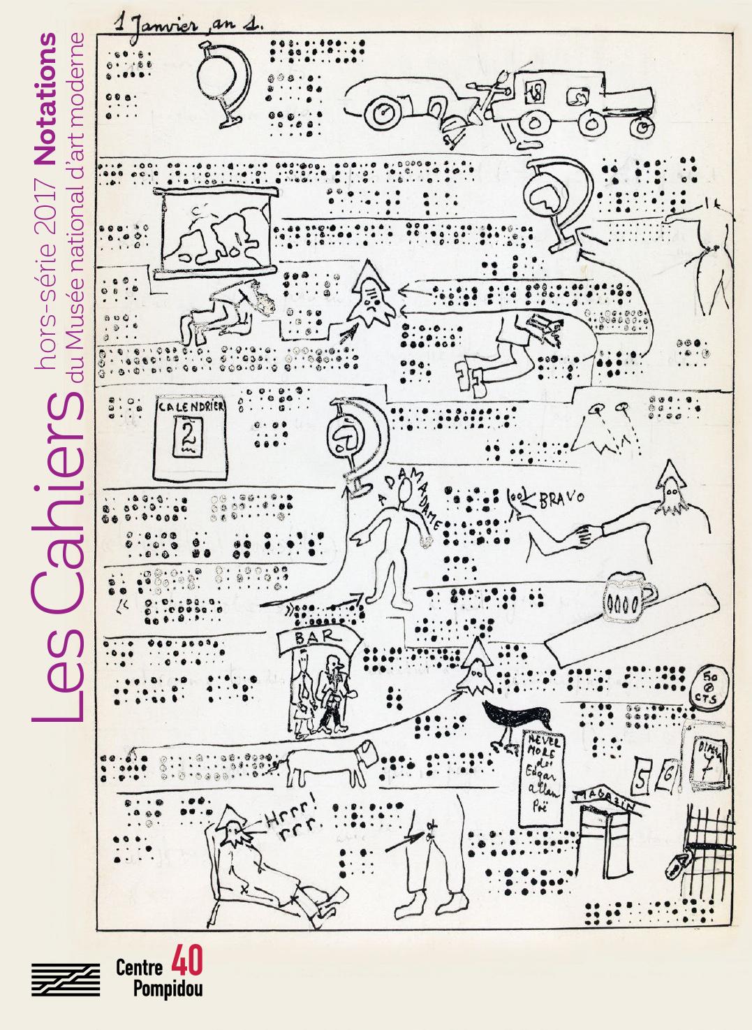 Hors-série Notations des Cahiers du Musée national d'art moderne