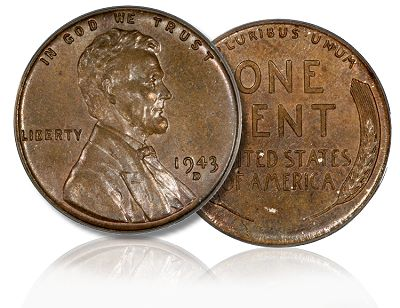 1943 The unique coin