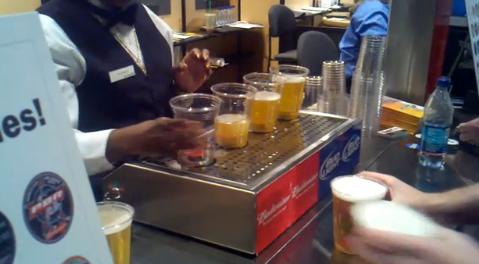 Tirador mágico de cervezas