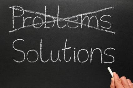 Encontrar problemas a las soluciones
