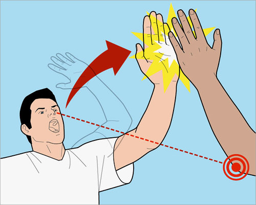 how to give a high five